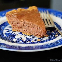 This Chocolate Candy Bar Pie recipe is a simple recipe for pie made with chocolate candy bars.