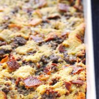 Easy Sausage Cheese Breakfast Casserole Recipe