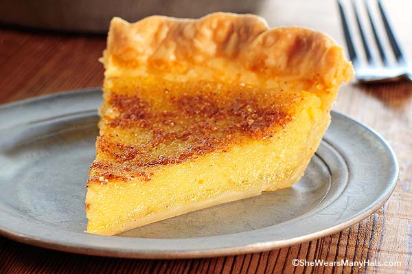 Cooking Old Fashioned Egg Custard Pie