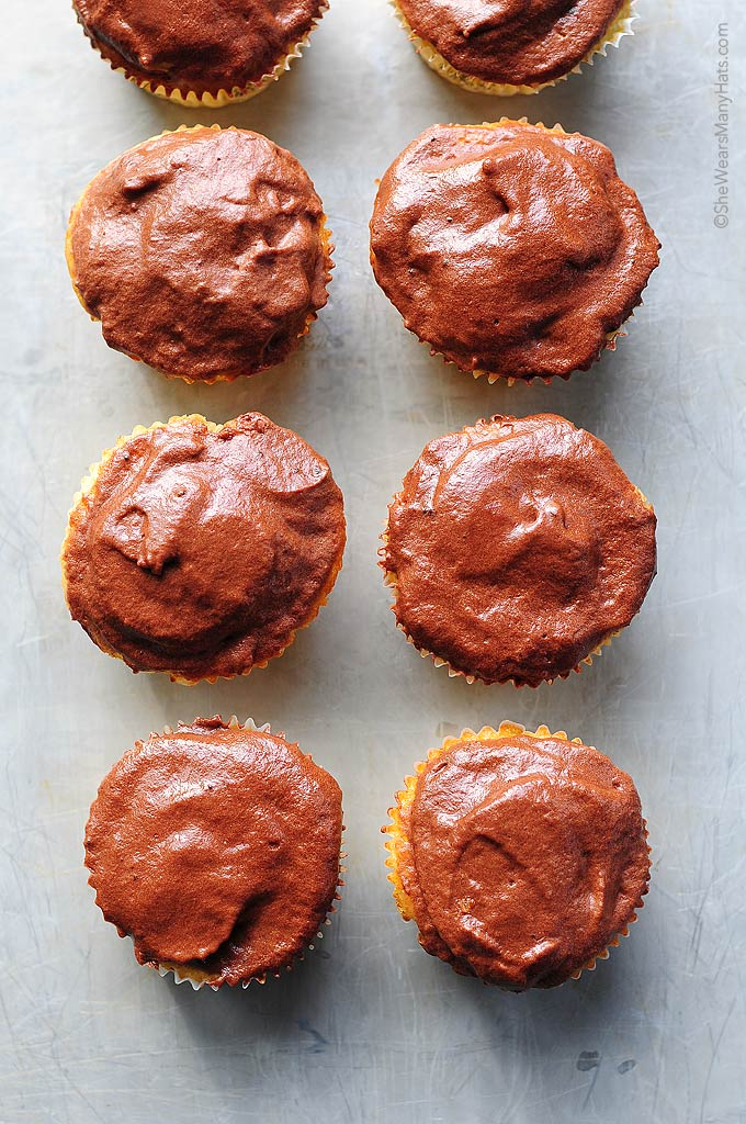 This is the best Yellow Cupcake Recipe. It make a light fluffy cupcake that partners perfectly with a chocolate buttercream.