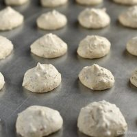 Pecan Meringue Cookies Recipe