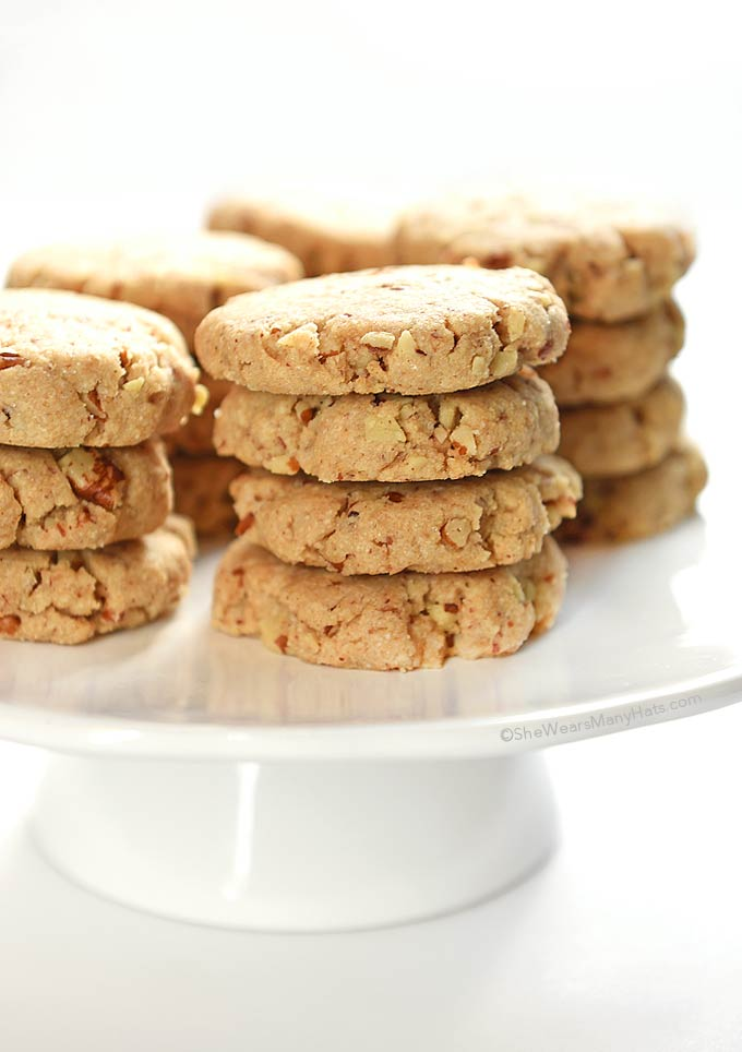 Pecan Sandies Recipe | She Wears Many Hats