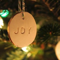 These polymer clay Homemade Christmas Ornaments are a fun project and will make a great addition to a tree or tie one onto a gift for extra special gift wrapping.