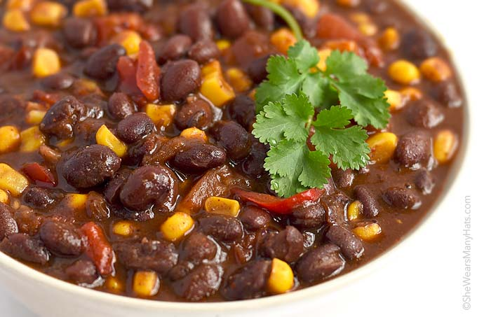 This bold and zesty Vegetarian Chili is quick and easy to put together ...