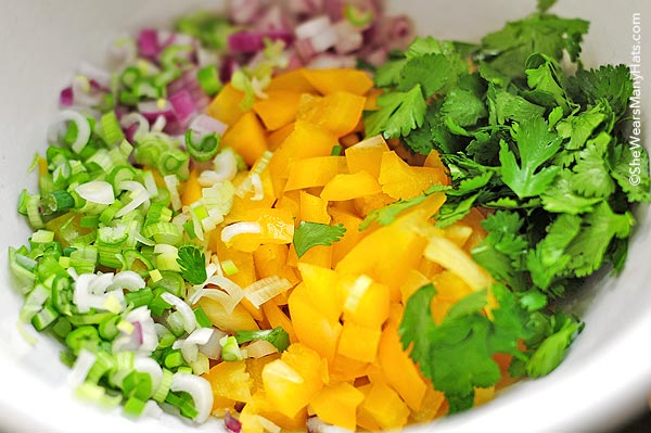 This simple Black-eye Pea Salad, also known as Redneck or Texas Caviar is scrumptious and perfect for a side dish or appetizer.