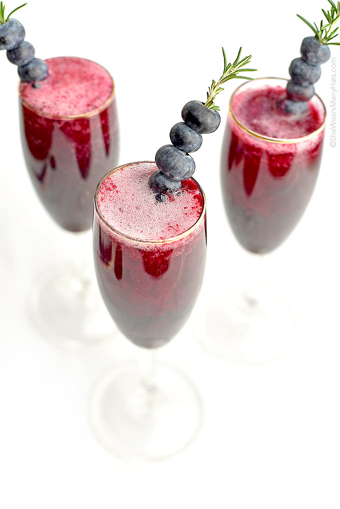 Blueberry Bellini