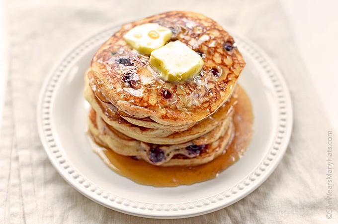 Yogurt Blueberry Pancakes Recipe photo