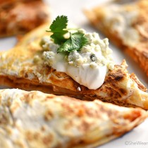 Buffalo Chicken Quesadillas Recipe