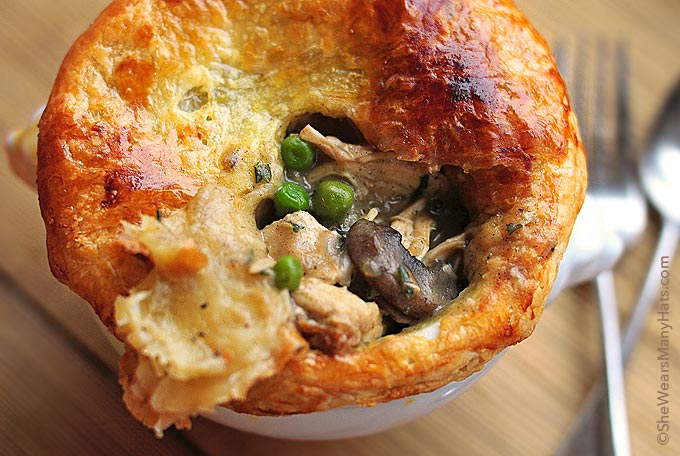 This Chicken Pot Pie recipe is the best kind of savory comfort food ...