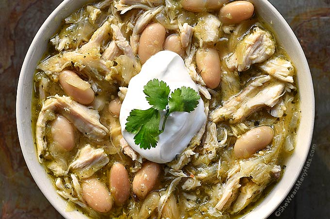 Salsa Verde Chicken Soup