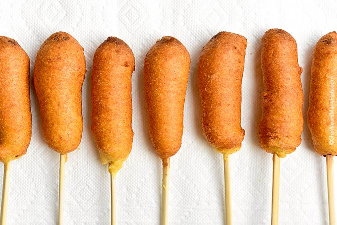 few tips for making corn dogs:
