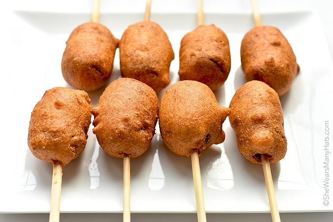 Sausage Corn Dogs