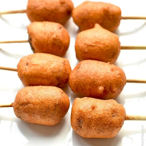 Smoked Sausage Corn Dogs Recipe