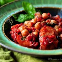 Italian Style Garbanzos and Sausage Recipe