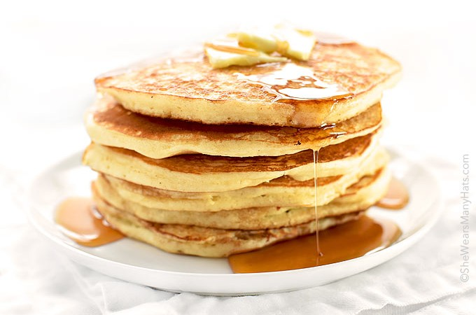 Breakfast is an essential part of the day, and when it involves pancakes, like these Yogurt Pancakes, it's a tasty part too.