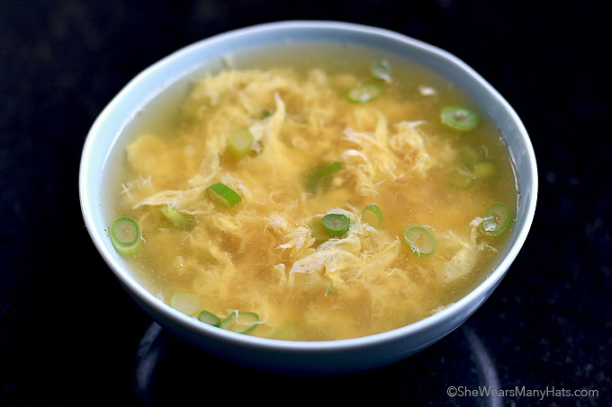 Egg Drop Soup Recipe | She Wears Many Hats