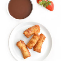 Strawberry Egg Roll Recipe