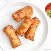 Dessert Egg Roll Recipe