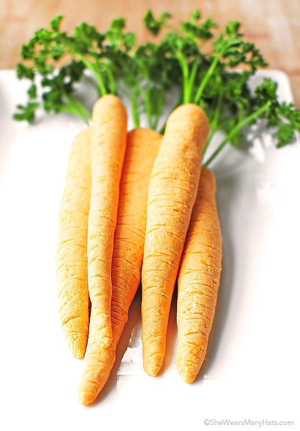 Cheese Carrots Appetizer Recipe