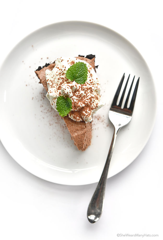 Irish Cream Chocolate Pie Recipe