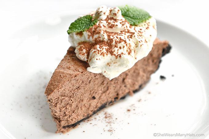 Irish Cream Chocolate Pie
