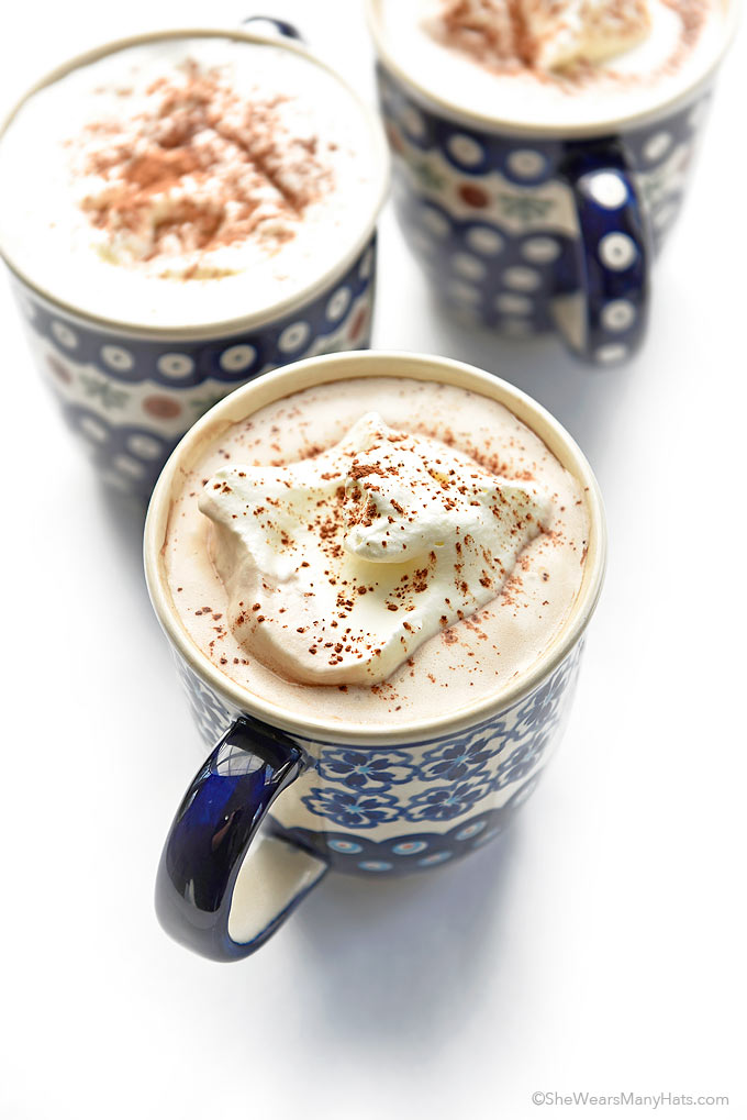 Coconut Milk Hot Chocolate Recipe | She Wears Many Hats