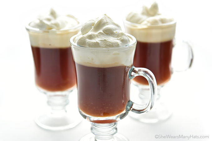 Irish Coffee Recipe - She Wears Many Hats
