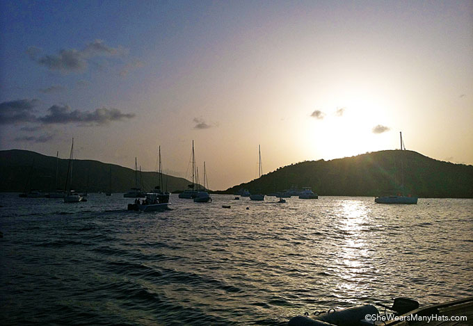 Sailing the British Virgin Islands