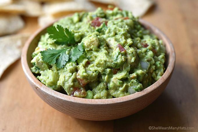 Guacamole Recipe