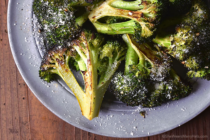 Roasted Broccoli Recipe She Wears Many Hats
