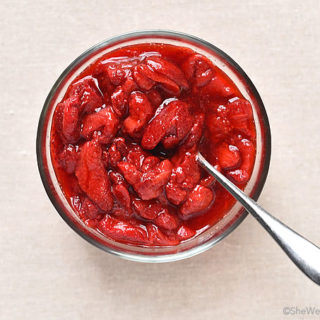 Roasted Strawberry Sauce Recipe