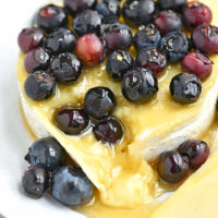 Blueberry Baked Brie Recipe