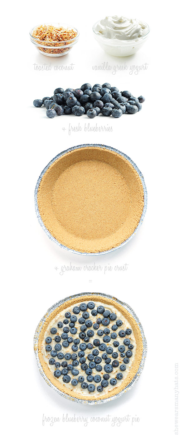 Frozen Blueberry Pie Recipe