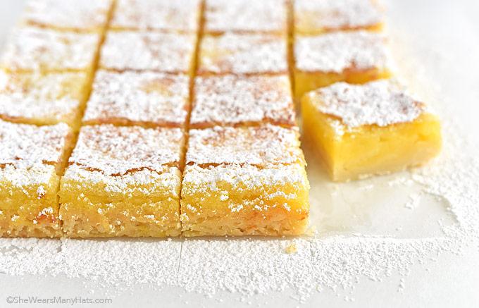 Lemon Square Cake Recipe
