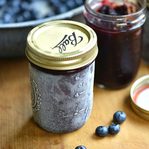 Easy Blueberry Freezer Jam Recipe