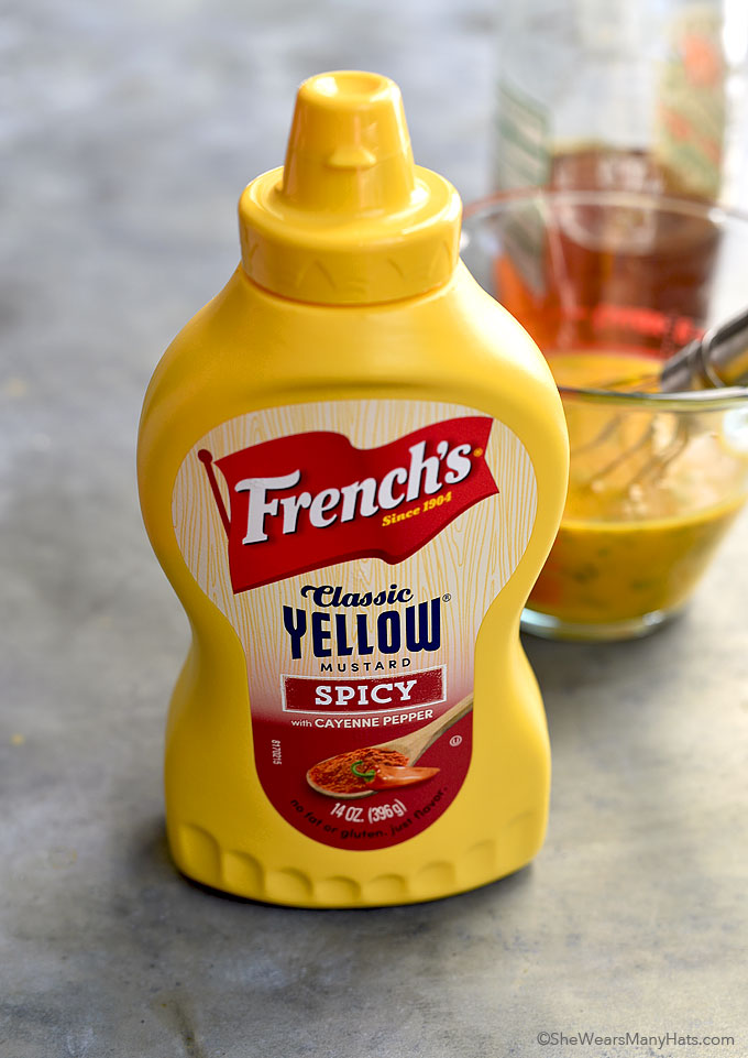 Spicy Honey Mustard Dressing Recipe shewearsmanyhats.com