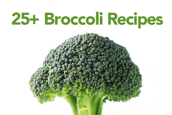 Over 25 Broccoli Recipes shewearsmanyhats.com