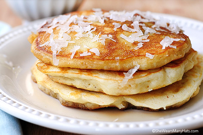 Coconut pancakes recipe ccuart Choice Image