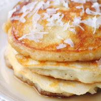 Coconut Pancakes Recipe