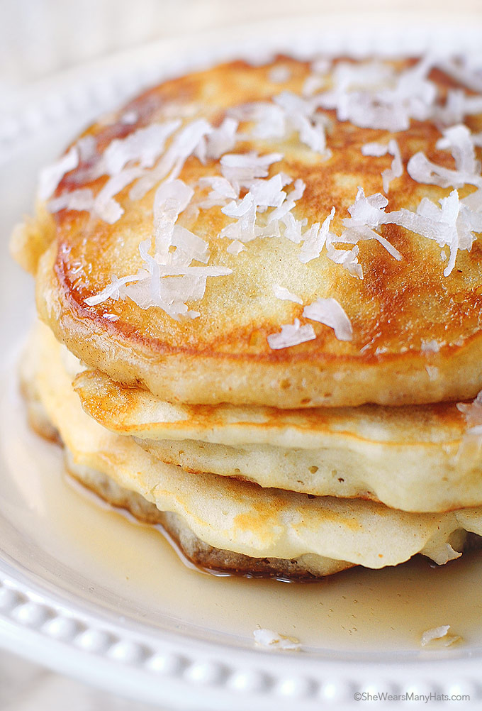 Coconut pancakes recipe ccuart Gallery