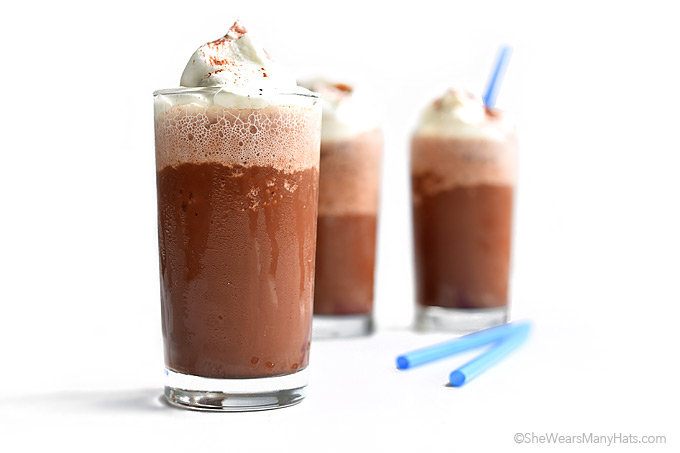 Mocha Frappe Recipe | She Wears Many Hats