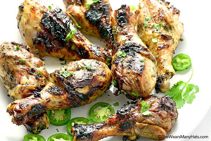 Honey Jalapeño Grilled Chicken Recipe from shewearsmanyhats.com