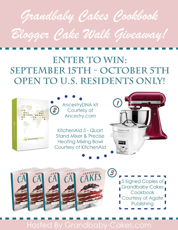 Grandbaby Cakes Cookbook giveaway