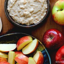 Easy Toffee Caramel Apple Dip Recipe shewearsmanyhats.com