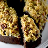 German Chocolate Pound Cake Recipe