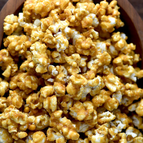 Homemade Caramel Corn Recipe