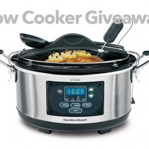 Slow Cooker Giveaway