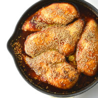 Baked Sweet and Spicy Chicken Breasts Recipe