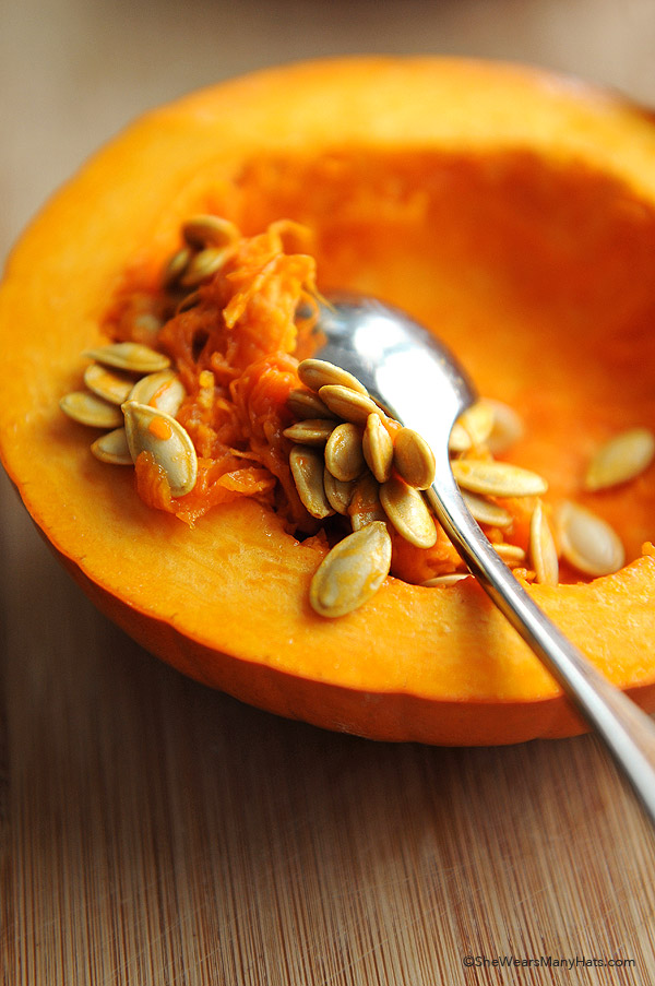Spicy Toasted Pumpkin Seeds Redipe