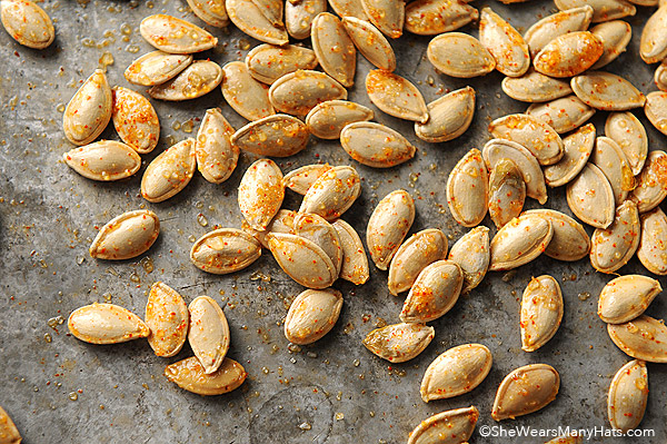 Cinnamon-Sugar Toasted Pumpkin Seeds Recipe
